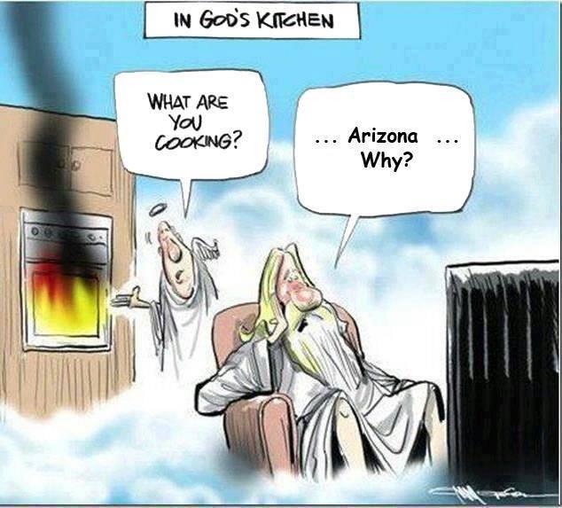Arizona summer heat