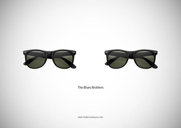 Blues Brothers eyeglasses