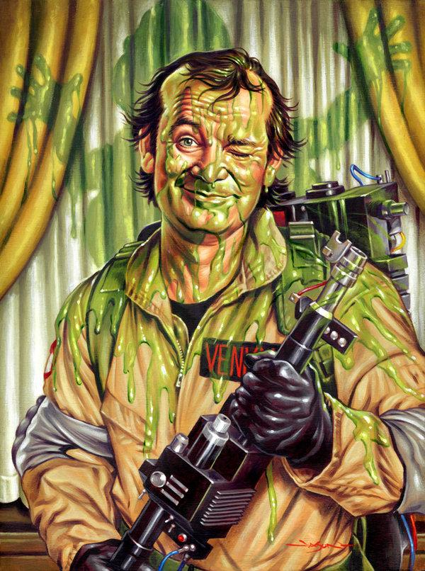 bill murray slimed