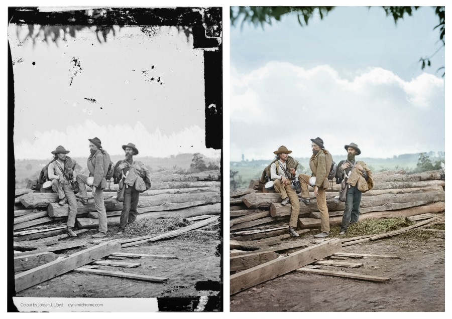 Three Confederate Prisoners