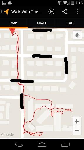 Map App Screenshot